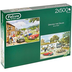 """Falcon (11215) - Kevin Walsh: """"Driving in The Dales"""" - 500 pieces puzzle"""