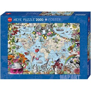 "Heye (29913) - ""Quirky World"" - 2000 pieces puzzle"