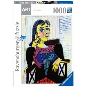 "Ravensburger (14088) - Pablo Picasso: ""Portrait of Dora Maar"" - 1000 pieces puzzle"