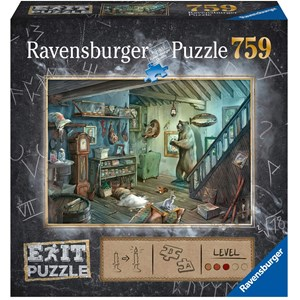 "Ravensburger (15029) - ""Forbidden Basement (in German)"" - 759 pieces puzzle"