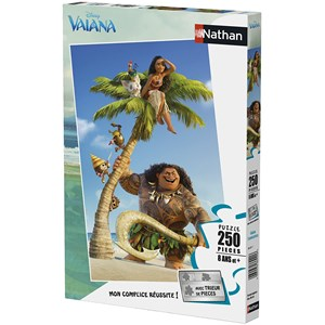 "Nathan (86871) - ""Disney Vaiana"" - 250 pieces puzzle"