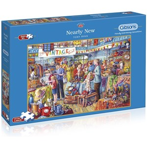 "Gibsons (G3527) - Tony Ryan: ""Nearly New"" - 500 pieces puzzle"