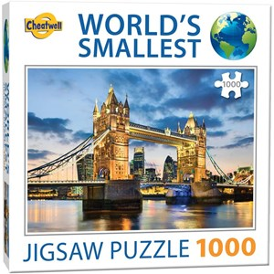 "Cheatwell Games (13954) - ""World's Smallest"" - 1000 pieces puzzle"