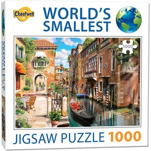 "Cheatwell Games (13985) - ""Venice Canals"" - 1000 pieces puzzle"