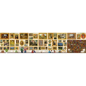 "Grafika (T-00944) - ""Travel around Art!"" - 54000 pieces puzzle"