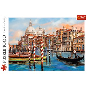 "Trefl (10460) - ""Afternoon in Venice, Canal Grande"" - 1000 pieces puzzle"