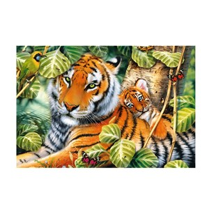 """Trefl (26159) - """"Two Tigers"""" - 1500 pieces puzzle"""