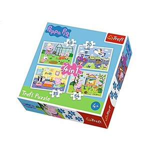 "Trefl (34316) - ""The memories of holidays"" - 35 48 54 70 pieces puzzle"