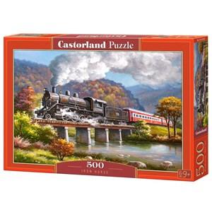 "Castorland (B-53452) - ""Iron Horse"" - 500 pieces puzzle"