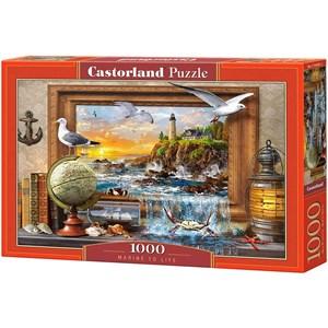 """Castorland (C-104581) - """"Marine to Life"""" - 1000 pieces puzzle"""