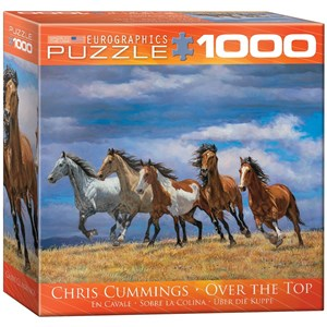 """Eurographics (8000-0709) - Chris Cummings: """"Over the Top"""" - 1000 pieces puzzle"""