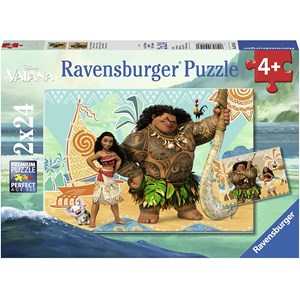 "Ravensburger (09156) - ""Disney Vaiana"" - 24 pieces puzzle"