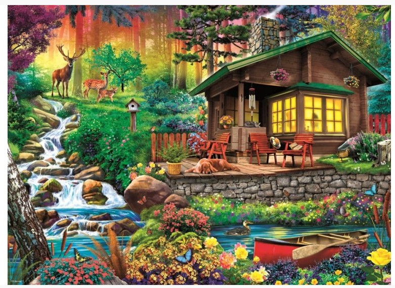 Trefl 3000 Piece Jigsaw Puzzle Savannah