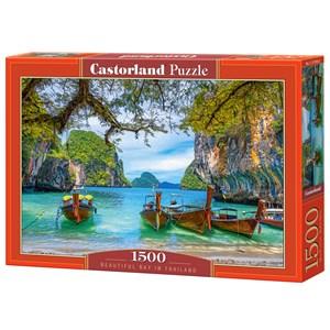"Castorland (C-151936) - ""Beautiful Bay in Thailand"" - 1500 pieces puzzle"