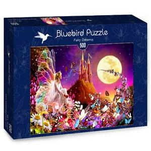 """Bluebird Puzzle (70177) - Bente Schlick: """"Fairy Dreams"""" - 500 pieces puzzle"""