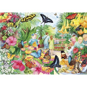 "Gibsons (G6231) - ""Butterfly House"" - 1000 pieces puzzle"