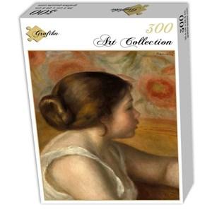 "Grafika (01905) - Pierre-Auguste Renoir: ""Head of a Young Girl, 1890"" - 300 pieces puzzle"