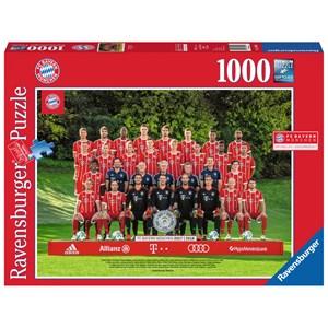"Ravensburger (19896) - ""FC Bayern '17/18 J.H."" - 1000 pieces puzzle"
