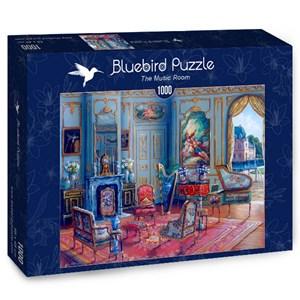 "Bluebird Puzzle (70341) - John O'Brien: ""The Music Room"" - 1000 pieces puzzle"