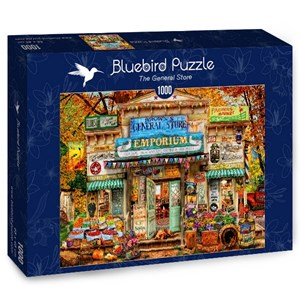"Bluebird Puzzle (70332) - Aimee Stewart: ""The General Store"" - 1000 pieces puzzle"