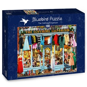 "Bluebird Puzzle (70338) - Garry Walton: ""The Clothing Emporium"" - 1000 pieces puzzle"