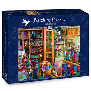 "Bluebird Puzzle (70331) - Aimee Stewart: ""Kitty Heaven"" - 1000 pieces puzzle"