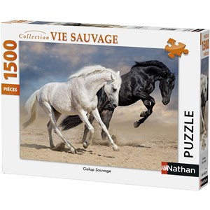 """Nathan (87791) - """"Wild Gallop"""" - 1500 pieces puzzle"""