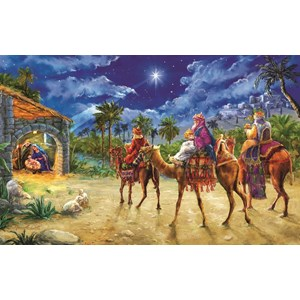 "SunsOut (60602) - Marcello Corti: ""Journey of the Magi"" - 550 pieces puzzle"