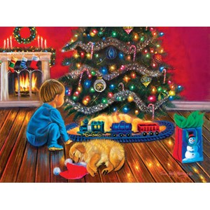 "SunsOut (35897) - Tricia Reilly-Matthews: ""Under the Tree"" - 1000 pieces puzzle"