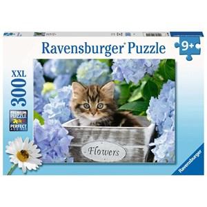 """Ravensburger (12894) - """"Little Kitten"""" - 300 pieces puzzle"""