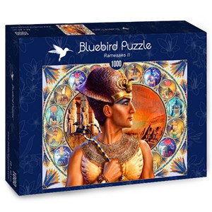 "Bluebird Puzzle (70176) - Andrew Farley: ""Ramesses II"" - 1000 pieces puzzle"