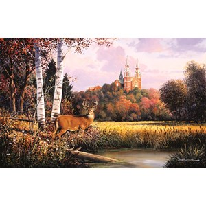 "SunsOut (75137) - George Kovach: ""Sacred Refuge"" - 550 pieces puzzle"