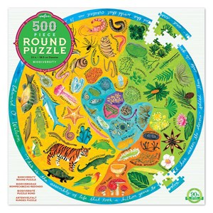"""eeBoo (EPZFBOD) - """"Biodiversity"""" - 500 pieces puzzle"""