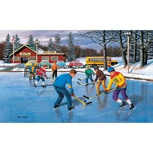 """SunsOut (39581) - Ken Zylla: """"Saturday Practice"""" - 550 pieces puzzle"""