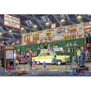 "Gibsons (G2713) - ""Going Once Going Twice"" - 250 pieces puzzle"