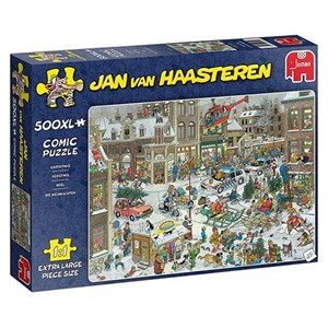 "Jumbo (20020) - Jan van Haasteren: ""Christmas"" - 500 pieces puzzle"