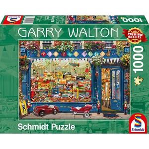 """Schmidt Spiele (59606) - Garry Walton: """"Toy Store"""" - 1000 pieces puzzle"""