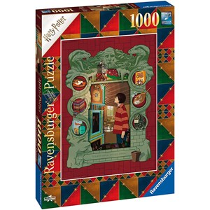 """Ravensburger (16516) - """"At Home with the Weasley Family"""" - 1000 pieces puzzle"""