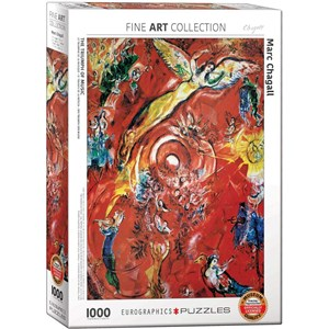 """Eurographics (6000-5418) - Marc Chagall: """"The Triumph of Music"""" - 1000 pieces puzzle"""