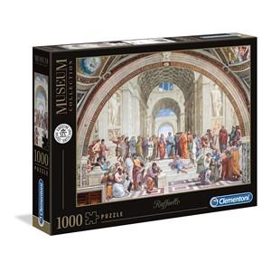 "Clementoni (39483) - Raphael: ""The School of Athens"" - 1000 pieces puzzle"