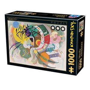 "D-Toys (75925) - Vassily Kandinsky: ""Dominant Curve"" - 1000 pieces puzzle"