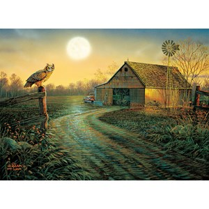 """SunsOut (29017) - Sam Timm: """"Late Summer's Eve"""" - 500 pieces puzzle"""