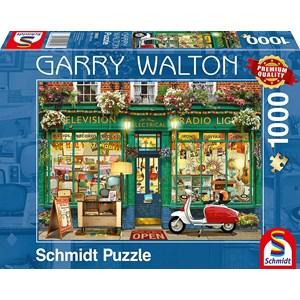 """Schmidt Spiele (59605) - Garry Walton: """"Electronics Shop"""" - 1000 pieces puzzle"""