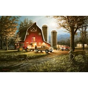"""SunsOut (55193) - Chuck Black: """"Harvest Nights"""" - 550 pieces puzzle"""
