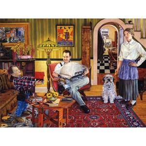 """SunsOut (44508) - Susan Brabeau: """"Red Paint"""" - 1000 pieces puzzle"""