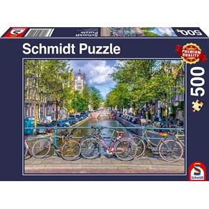 """Schmidt Spiele (58942) - """"Amsterdam"""" - 500 pieces puzzle"""