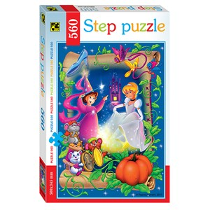 "Step Puzzle (78099) - ""Cinderella"" - 560 pieces puzzle"