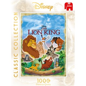 "Jumbo (18823) - ""The Lion King Movie Poster"" - 1000 pieces puzzle"