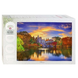 "Step Puzzle (79138) - ""Belvedere Castle, Central Park, Manhattan"" - 1000 pieces puzzle"