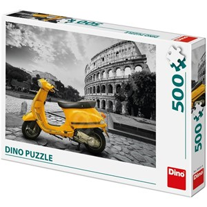 "Dino (50231) - ""Scooter at the Colosseum"" - 500 pieces puzzle"